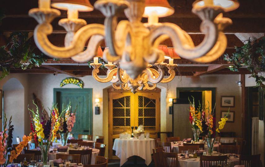 A traditional wedding venue