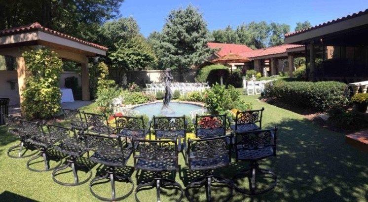 Beautiful garden space