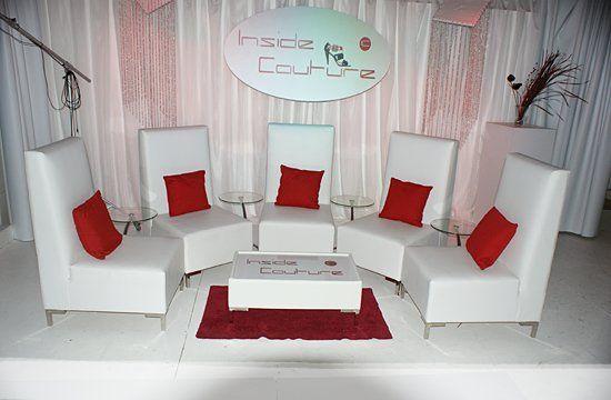 Set 8 go to MckinleyPierre.com click Rental Furniture for more info.