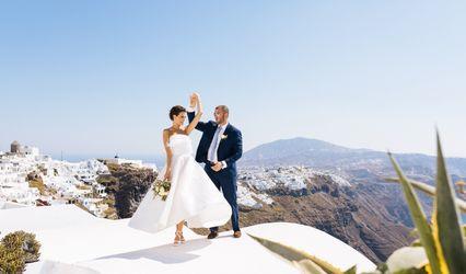 Santorini My Wedding