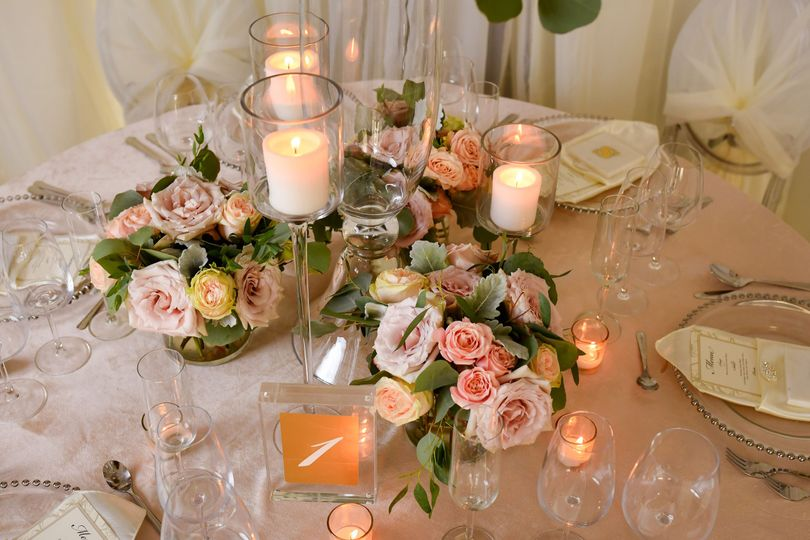 Fresh Floral and Candles