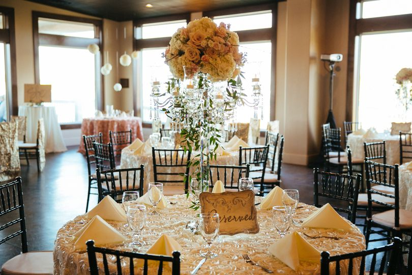 waterpoint wedding decor