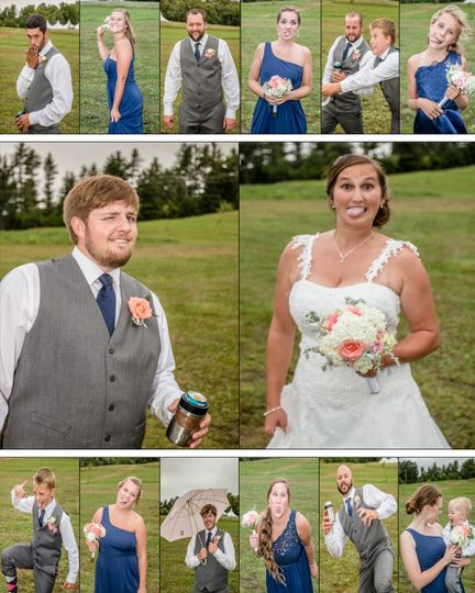 lyford wedding collage