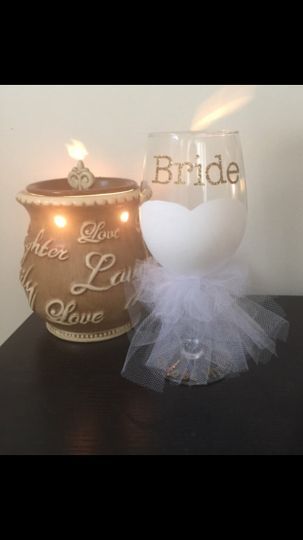 Bride Glass perfect for Engagement, Bridal Shower, or Wedding