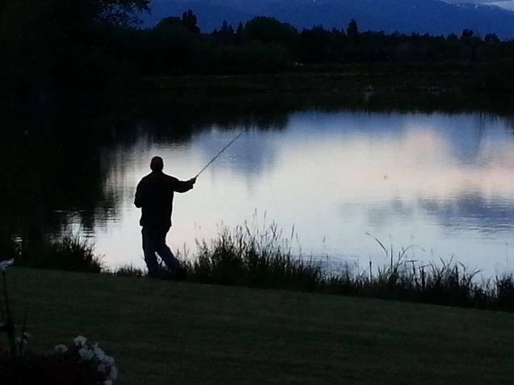 Tmx 1480295715929 Fishing At Dusk Hamilton, MT wedding venue