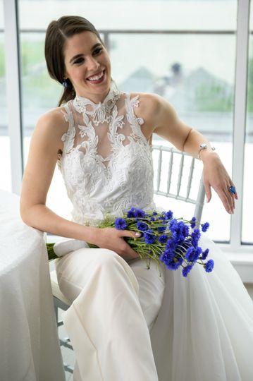 Adrienn Braun Bridal Dress Attire Kearny Nj Weddingwire