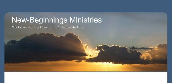 New Beginnings Ministries and Weddings
