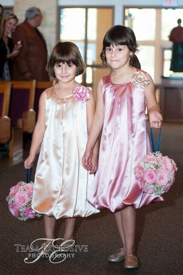 Junior bridesmaids