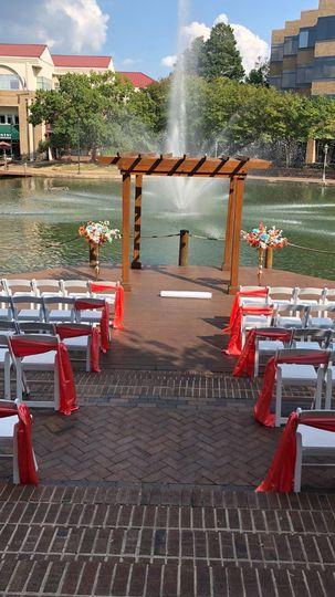 Outdoor Wedding Ceremony NC