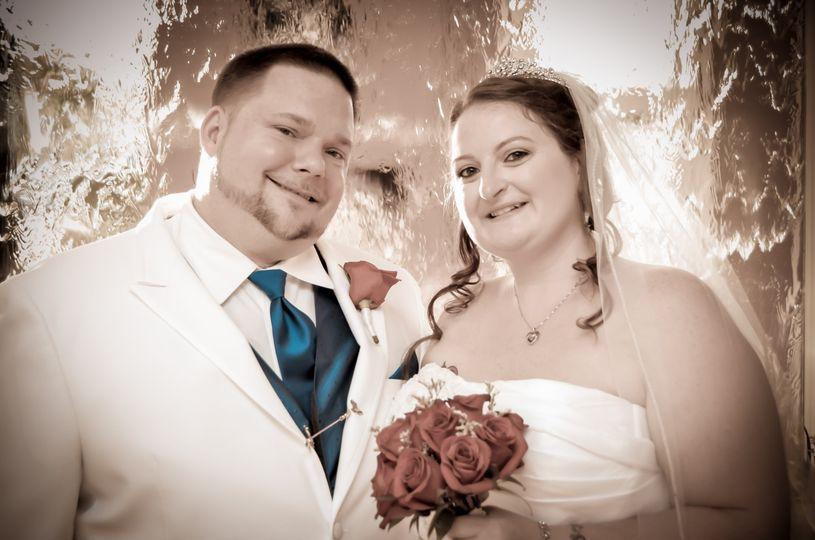 95969d9b0776405c Nick Nikki Wedding Picture for social media