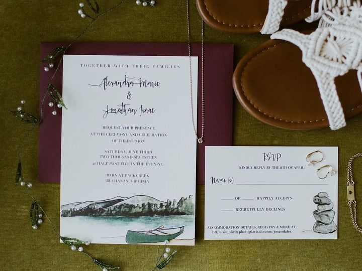 Tmx 1509505390937 36143442545730d50351fh Portland wedding invitation