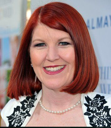 "Kate Flannery of ""The Office"" at the red carpet event for ""Something Borrowed"" Make up by:Nicole..."