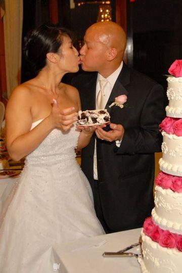 The wedding of Mina & Thomas photographed by celebrity event photographer Mark Savage...