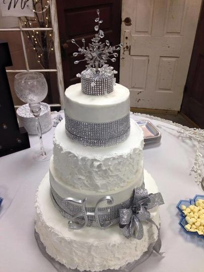 A Winter Wonderland themed wedding!