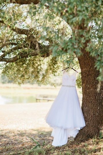Wedding Shoot overlooking the pond.