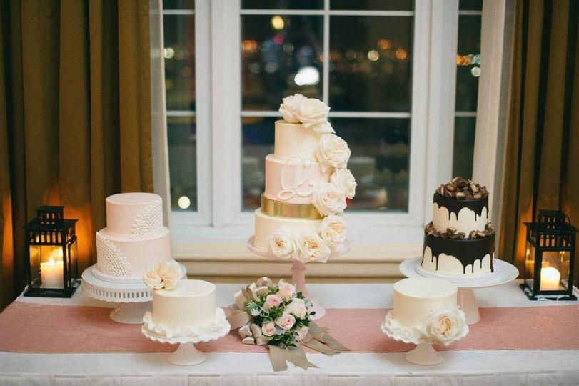 krista wedding cak