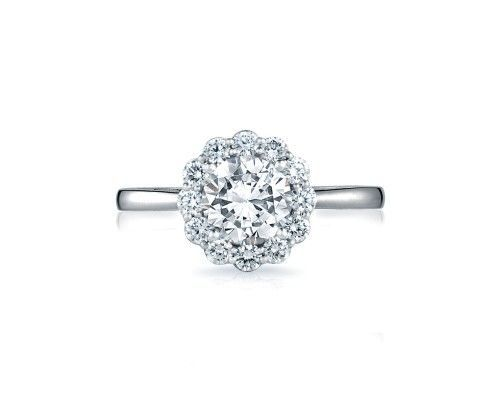 TACORI55-2rd65 A gorgeous blooming beauty! From our Full Bloom Collection, this brilliant round...