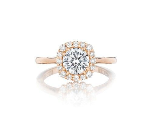 TACORI55-2cu65pk Light up that center diamond! From our Full Bloom Collection, this not so simple...