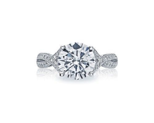 TACORI2565rd9 Reflect her sophistication and effortless grace with subtle signature Tacori milgrain...