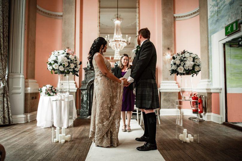 Luxury wedding flwoers