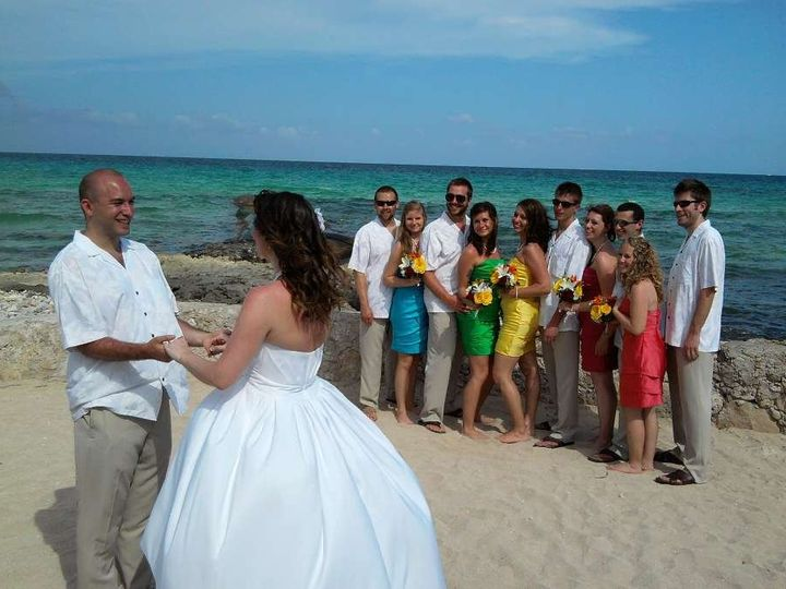 Tmx 1340388634849 AnthonyAhnaRosenblumWeddingPartyElDorado Metamora wedding travel