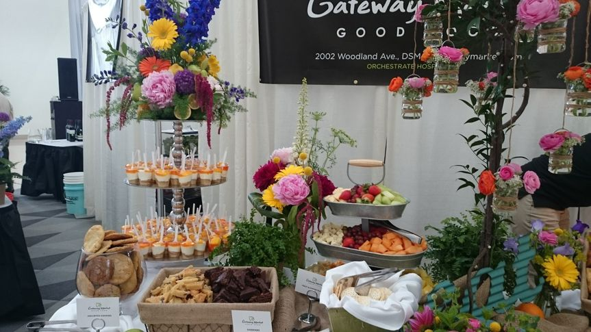 Another great tablescape from Winefest 2015