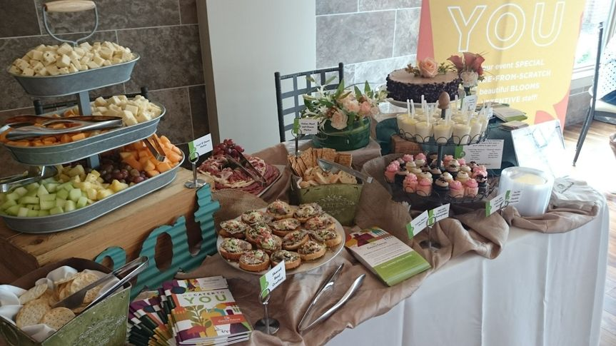 Appetizers, desserts and more at the preferred vendor show at NOAHS in August 2015