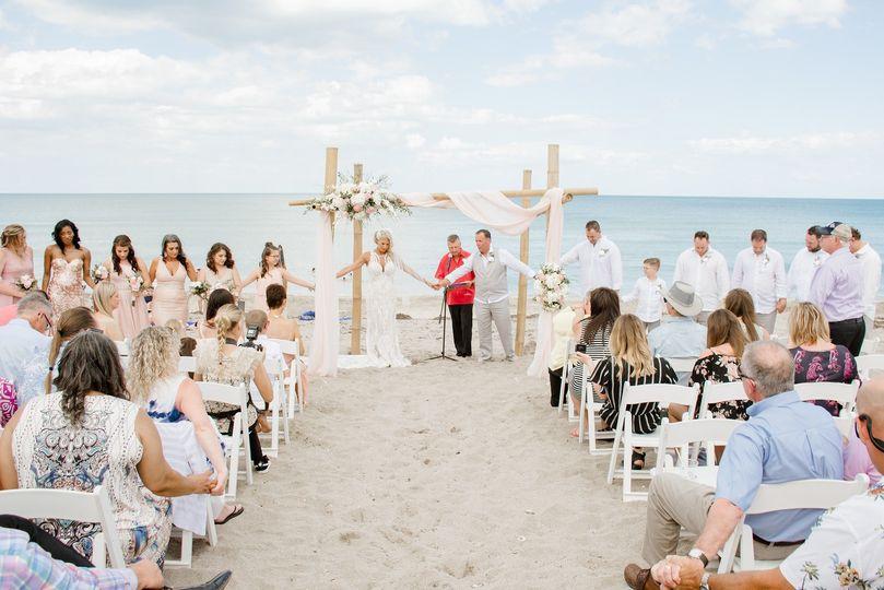 April 2019 Beach Ceremony