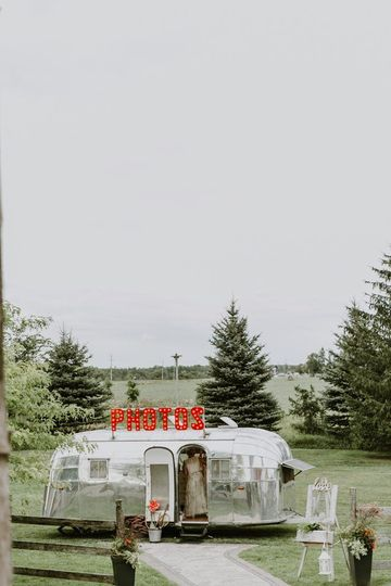 Airstream in the Fields