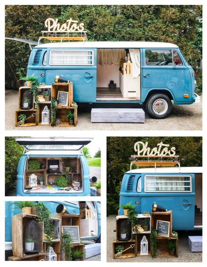 VW BUS Collage