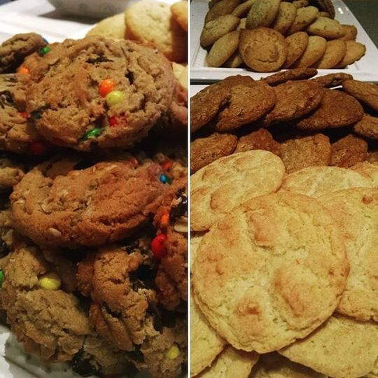 monster and snickerdoodle cookeis