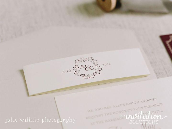 Invitation solutions invitations houston tx weddingwire 800x800 1480632043599 wreathmonogram stopboris Image collections