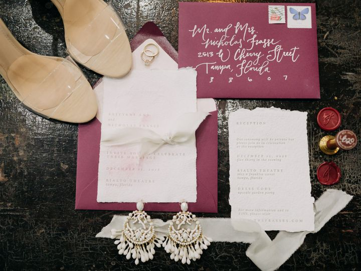 Tmx Frassewedding 0035 51 995828 Tampa wedding invitation