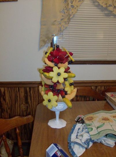 Fruit Flower Arrangement