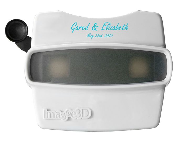 white imprinted viewer