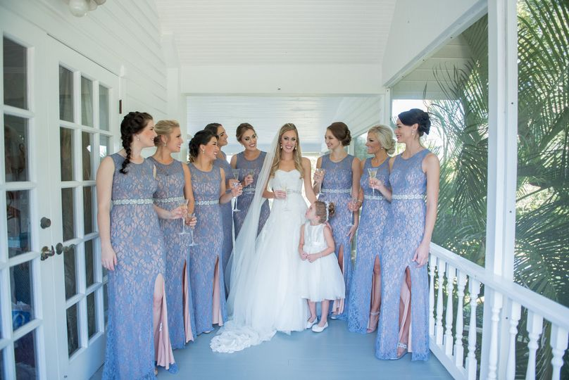 Bridal Attendants at Up the Creek Farms, FL