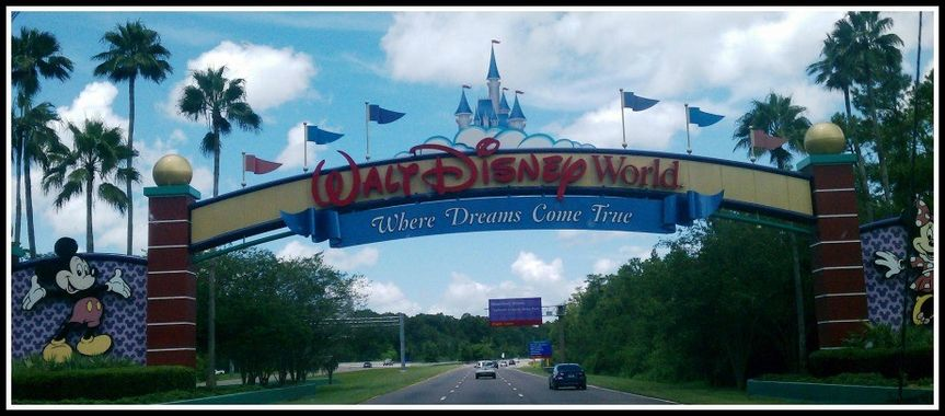 Disney World is the #1 wedding destination.