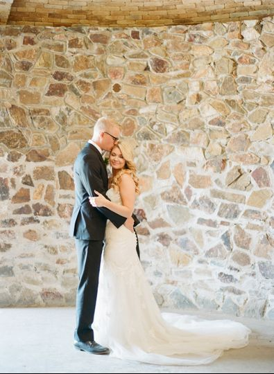 Kiss on the forehead | Erica Schneider Photography