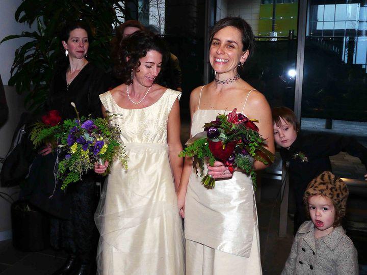 Tmx 1459980690260 Lesbian Couple Wedding Gay Marriage Dallas, TX wedding officiant
