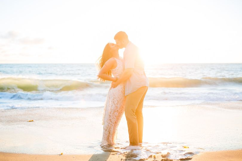 Strands Beach Engagement