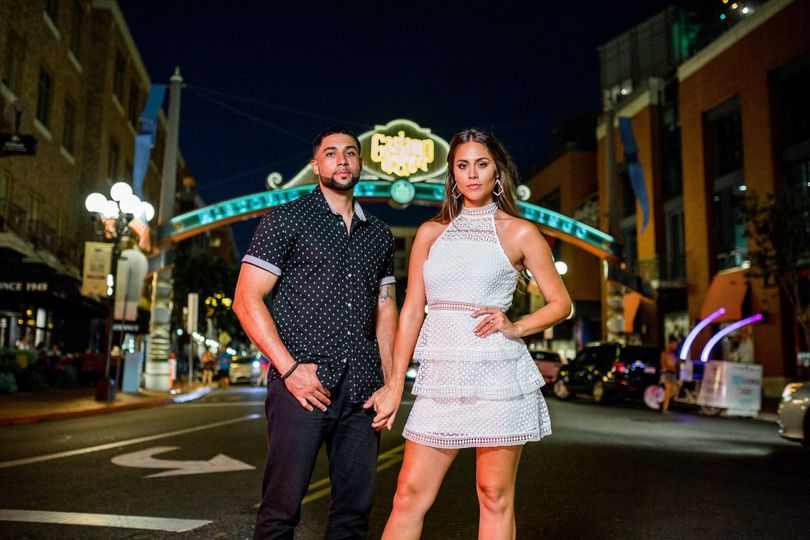 Gaslamp San Diego Engagement