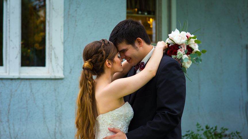micheal rugh wedding pic