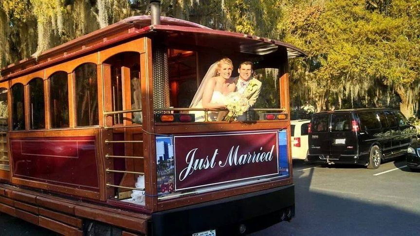 ​Wedding getaway car