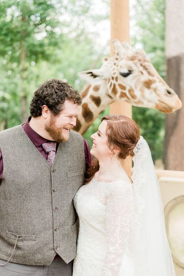 Birmingham Zoo Wedding
