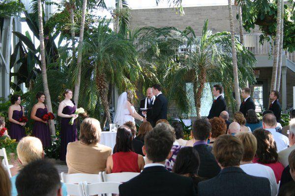 Jewel Box Wedding - St Louis wedding officiant Rev Sark Elking