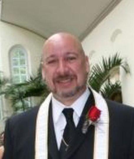 Rev Sark Elking St Louis wedding officiant Rev Sark Elking
