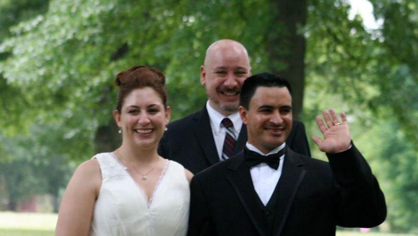 wedding officiant tower grove park