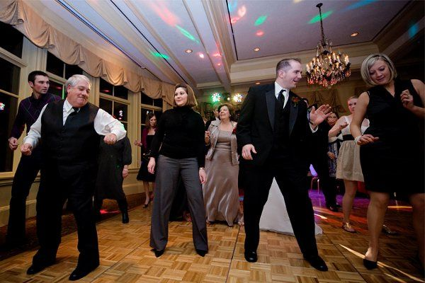 Our music selection will keep your guests on the dance floor until your grand exit!