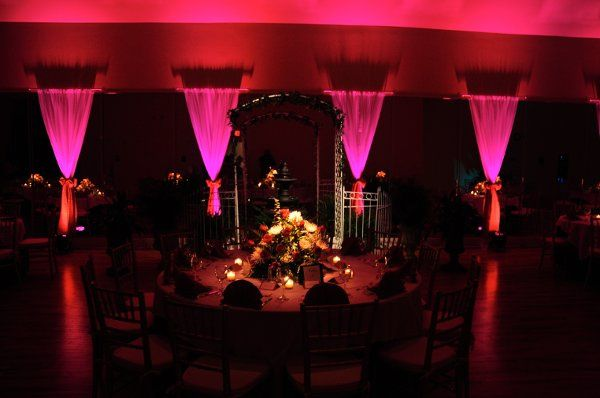 Example of Uplighting Services