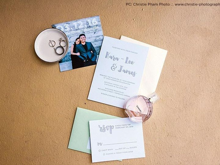 Tmx 1459377291487 Thekimunion Hawaii Wedding Letterpress Invitation  Honolulu wedding invitation